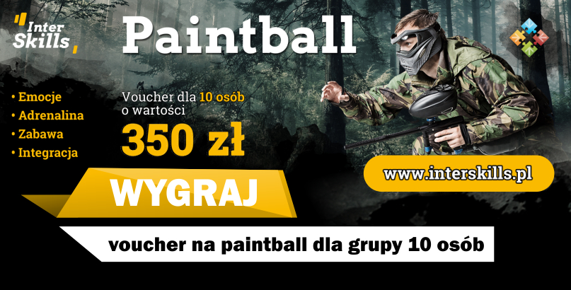 Wygraj voucher na paintball od InterSkills